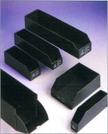 ESD Black Corrugated Bin Boxes
