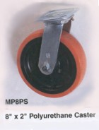 MP8PS 8 inch by 2 inch Polyurethane Caster