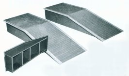 ALUMINUM WHEEL RAMP